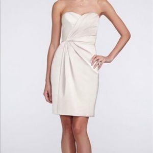 Iced Mocha David's Bridal Bridesmaid's Dress